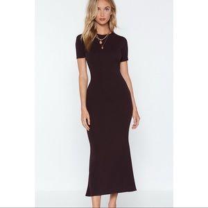 Nasty Gal | Come a Long Way Midi Dress